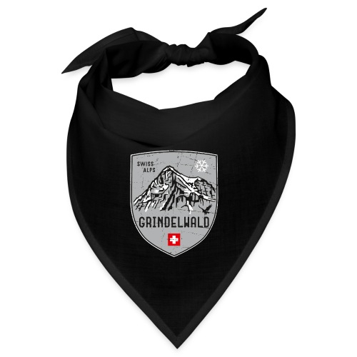 Grindelwald Switzerland coat of arms - Bandana