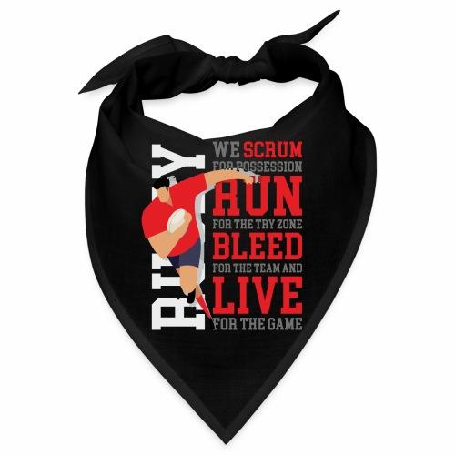 MarPlo Scrum Run Live Red - Bandana
