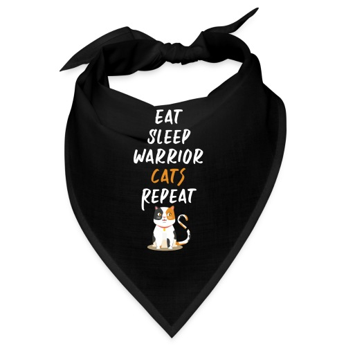 Eat sleep warrior cats repeat - Bandana