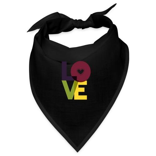 Love cooles Sommer Design Geschenk für Frauen - Bandana
