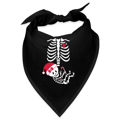 Maternity Skeleton ribcage - Bandana