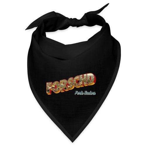 Forschd - Perle Badens - Vintage-Logo mit Luftbild - Bandana