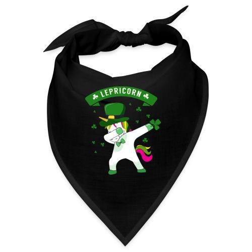Lepricorn - St. patricks Day Unicorn dab pose - Bandana
