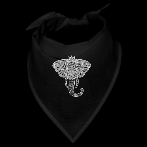 Henna elephant - Bandana
