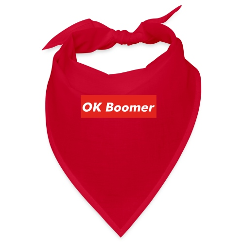 OK Boomer Meme - Bandana