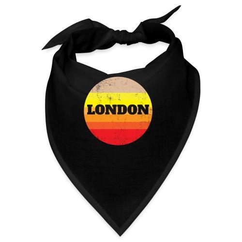 Retro London Souvenir - Vintage Sonnenuntergang Lo - Bandana