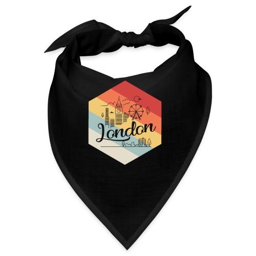 London Sechseck Vintage - London Skyline Symbol - Bandana