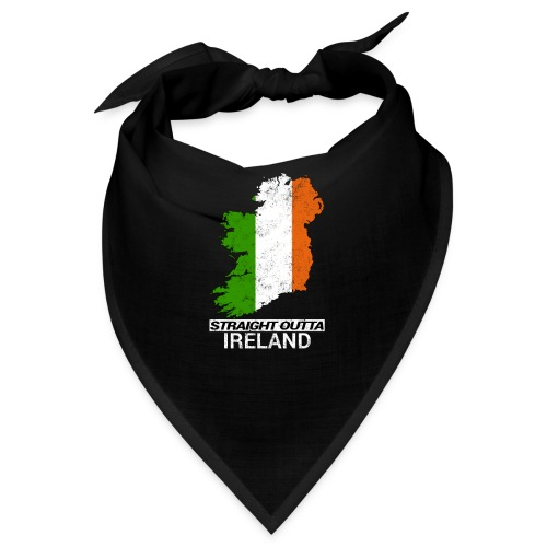 Straight Outta Ireland (Eire) country map flag - Bandana