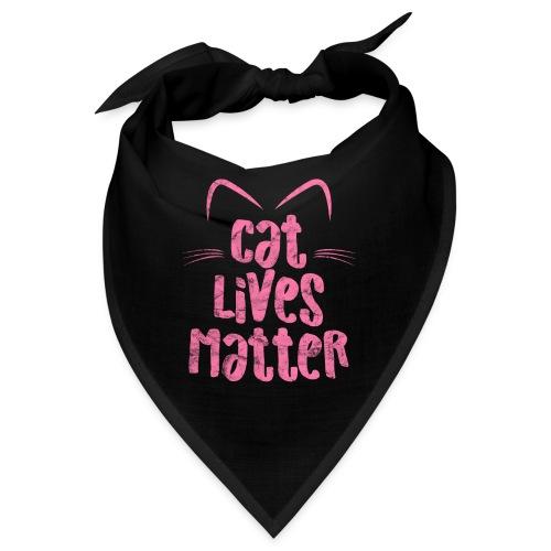 Cat Lives Matter Katzen sind auch wichtig - Bandana