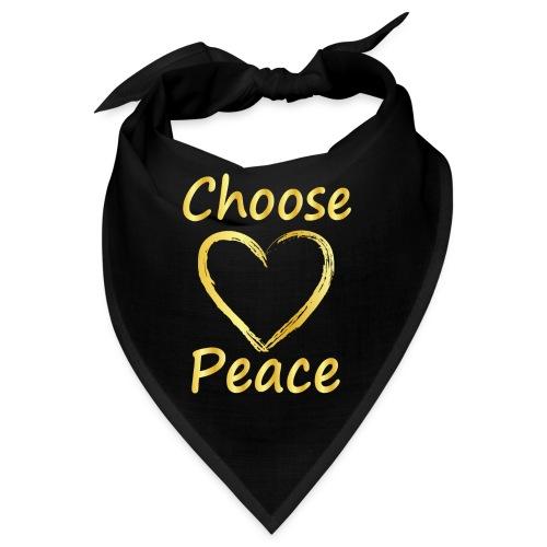 Choose Peace - Bandana