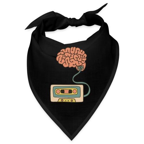 Musikkassette am Gehirn - Bandana