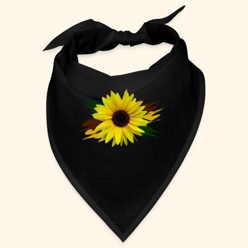 Sonnenblume, Sonnenblumen, Blume, floral, blumig - Bandana