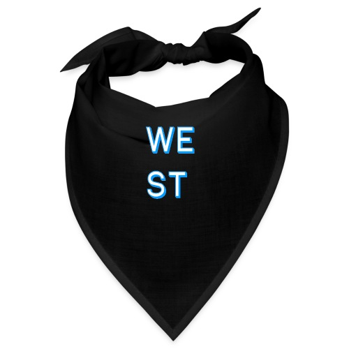 WEST LOGO - Bandana