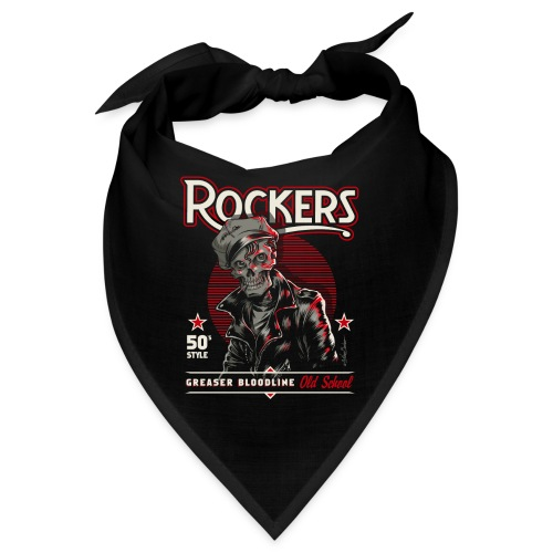 rockersssss unido - Bandana