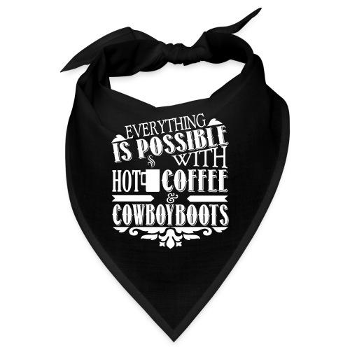 Kaffee & Cowboy Stiefel - Bandana