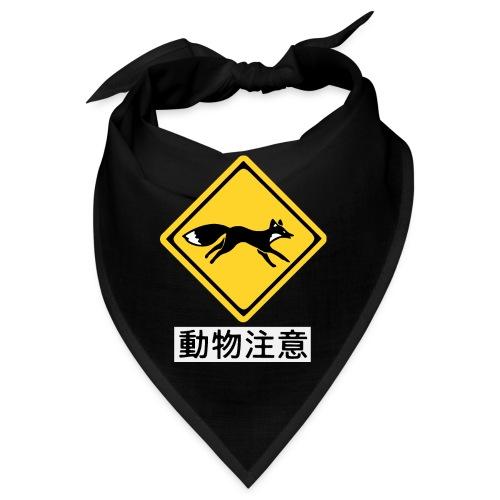 Fox Street Sign Japan - Bandana
