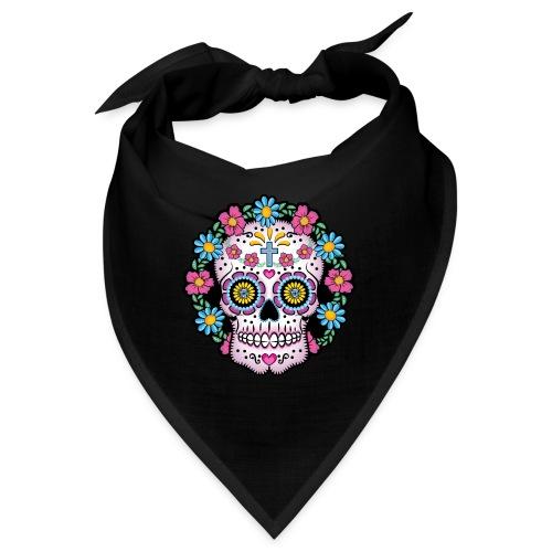 Dia de los Muertos Skull- - Bandana