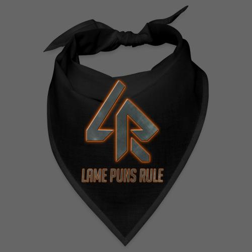 Lame Puns Rule: Logo - Bandana