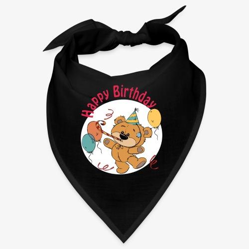 Little bear - Happy Birthday - Bandana