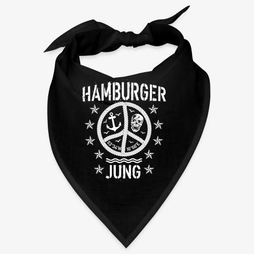 96 Hamburger Jung Peace Friedenszeichen Seil - Bandana