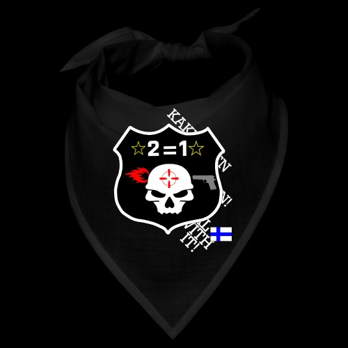 teksti logo musta tausta - Bandana