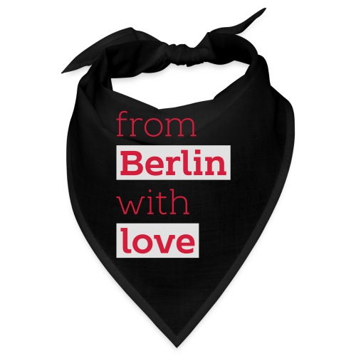 From Berlin with Love - Bandana