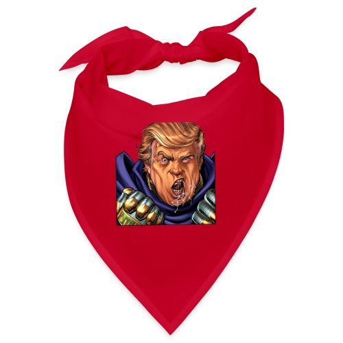 trump cartoon characters free to pull the material - Bandana