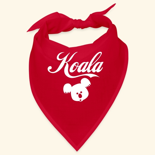 Koala Kawaii Comic Design für Australien Fans - Bandana