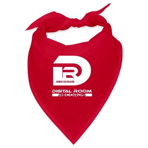 Digital Room Records Official Logo white - Bandana