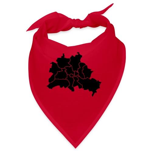 Berlinkarte, dzielnice, dzielnice - Bandana