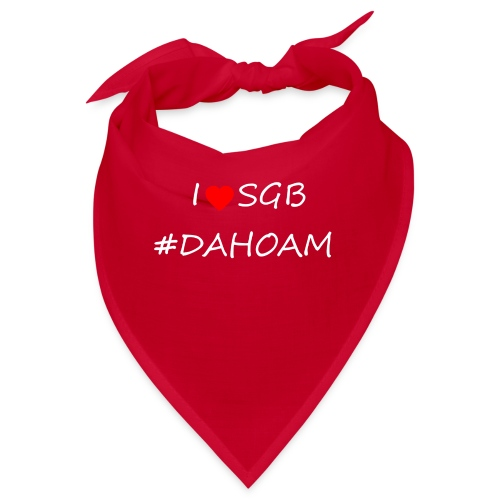 I ❤️ SGB #DAHOAM - Bandana