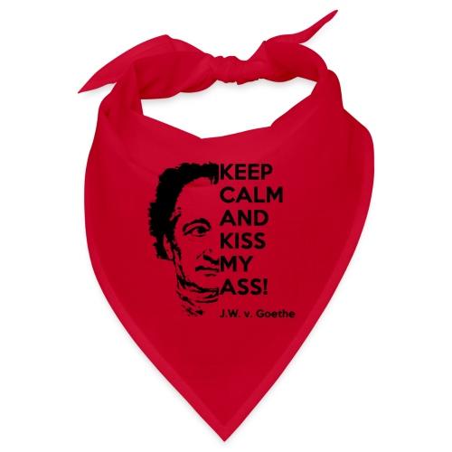 Cool Mask No. 4 - Kiss me Goethe - Bandana