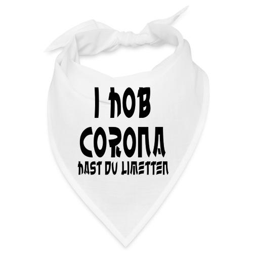 I HOB CORONA HAST DU LIMETTEN - Bandana