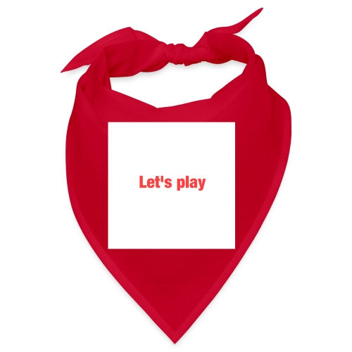 Let's play - Bandana