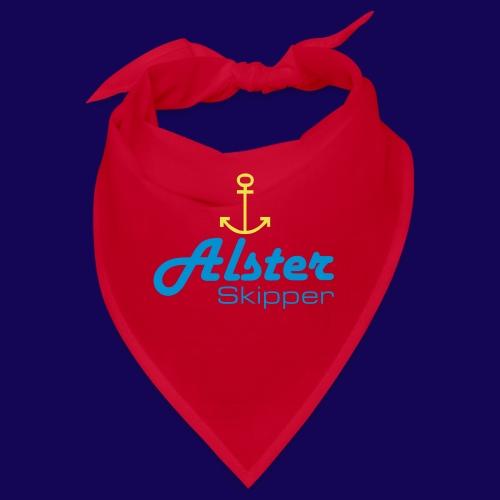 Hamburg maritim: Alster Skipper mit Anker - Bandana
