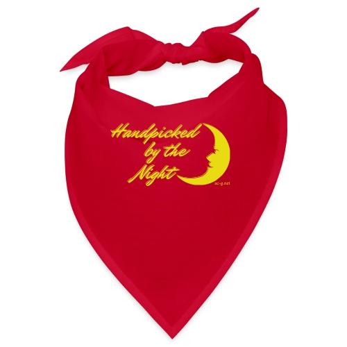 Handpicked design By The Night - Logo Yellow - Bandana