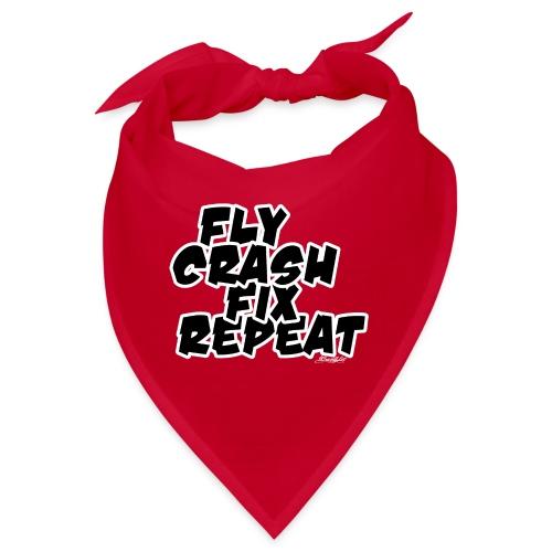 FlyCrashFixRepeat signed - Bandana