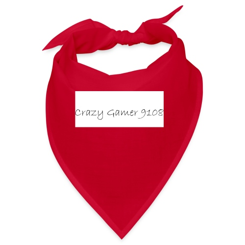 Crazy Gamer 9108 new merch - Bandana