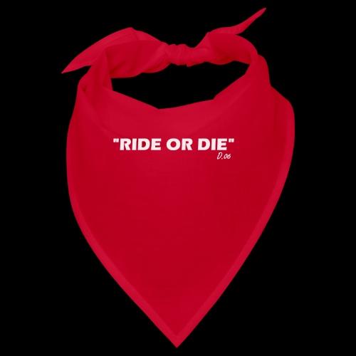 Ride or die (blanc) - Bandana
