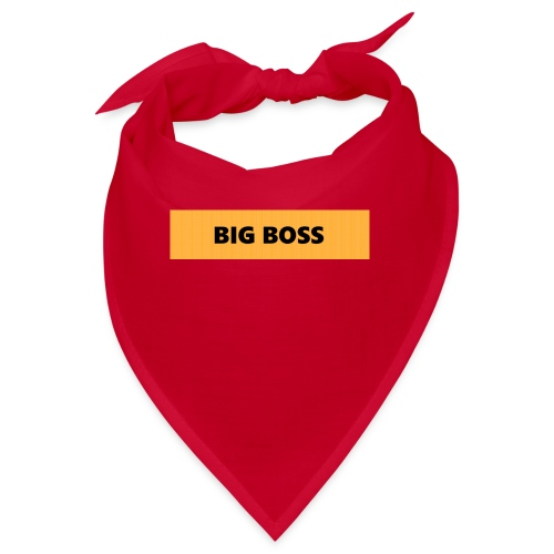 BIG BOSS - Bandana