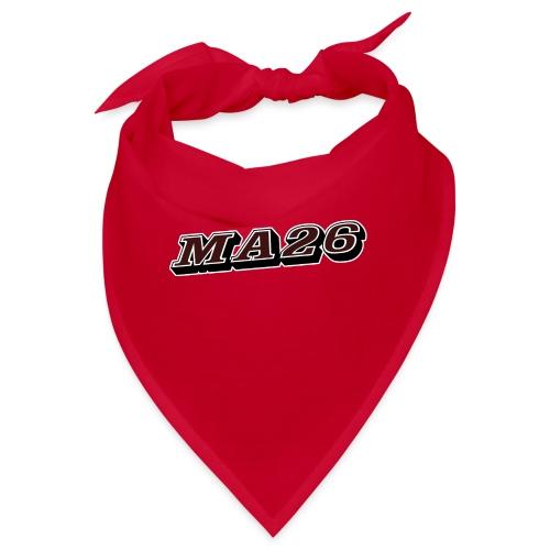 Logo MA26 texto - Bandana