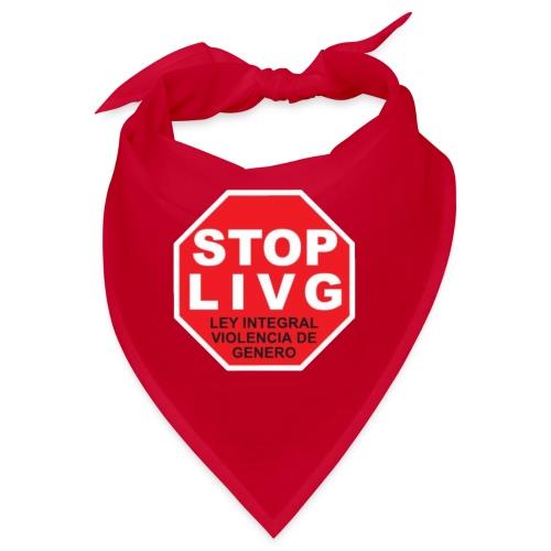 Stop LIVG Ley integral de violencia de Género - Bandana