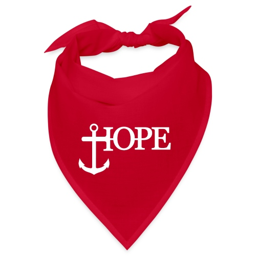 Hope Anker Anchor Hoffnung - Bandana