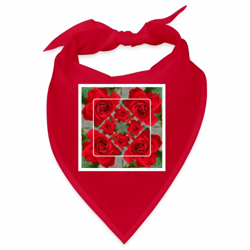 Rose Design - Bandana