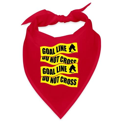 Ice Hockey - Goal Line Do Not Cross - Bandana