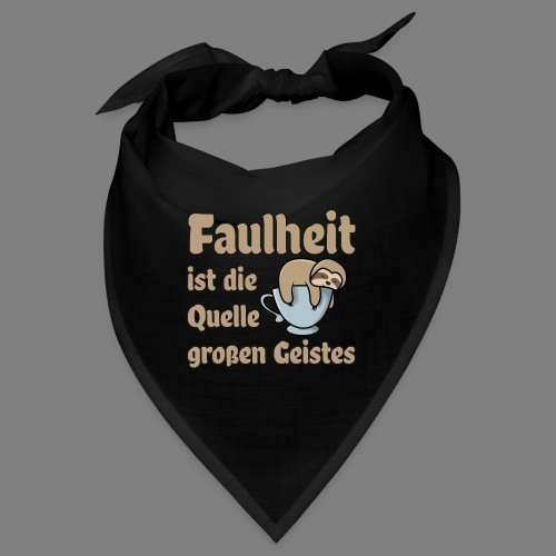 Faulheit - Bandana