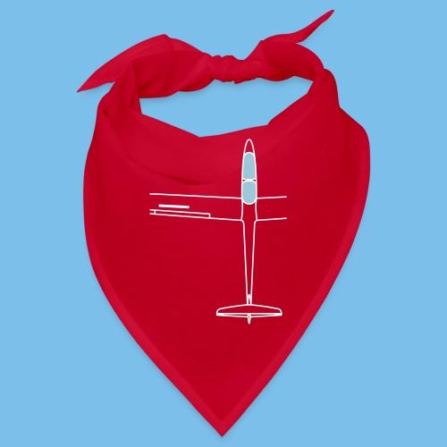 Segelflugzeug von oben Segelflieger gleiten - Bandana