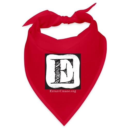 Logo ErrareUmano con scritta bianca - Bandana