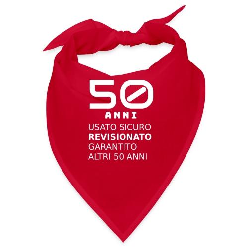 50 anni usato sicuro - Bandana