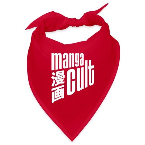 Manga Cult Logo Weiß - Bandana